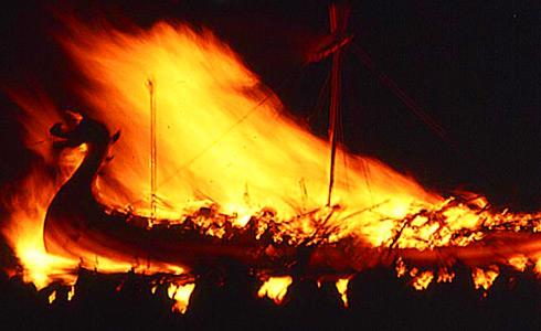 Фестиваль огня в Люксембурге