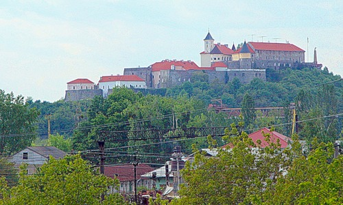 Мукачевский замок на Закарпатьи
