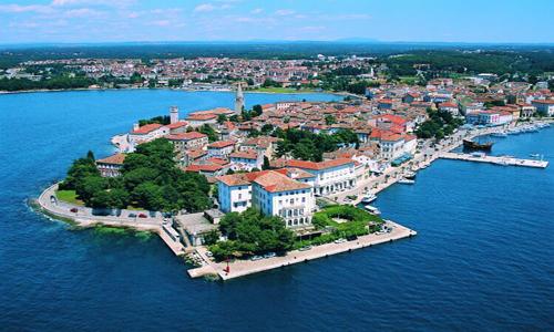 Пореч - курортный центр Хорватии