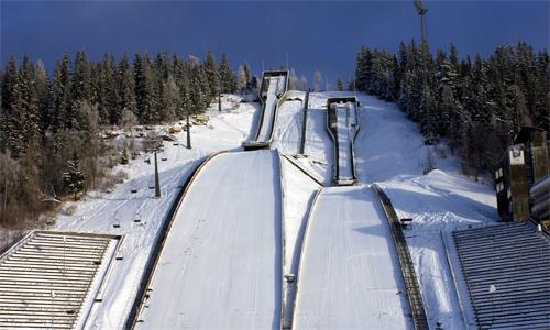 Курорт Снеговика в Норвегии