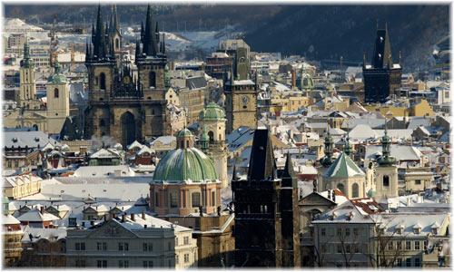 Отдых на зимних каникулах в Праге