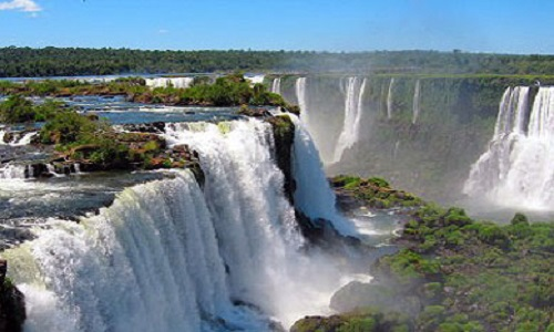 Потрясающе красивые водопады ЮАР