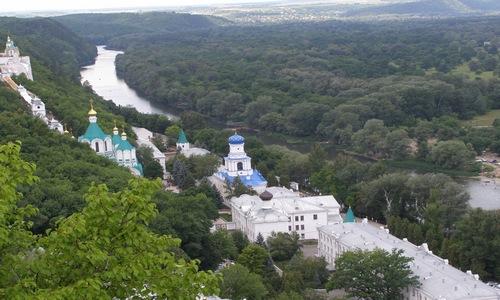 """Парк """"Святые горы"""" в Святогорске"""